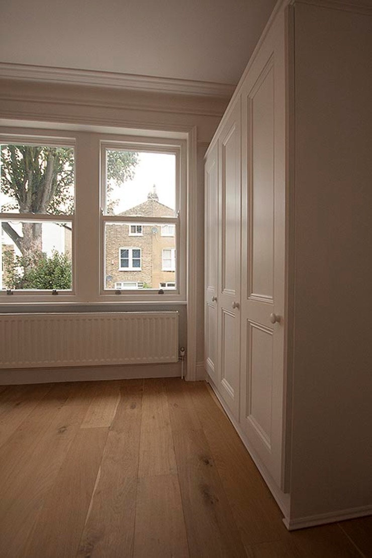 Full interior house painting, South West London The Hamilton Group Classic style bedroom