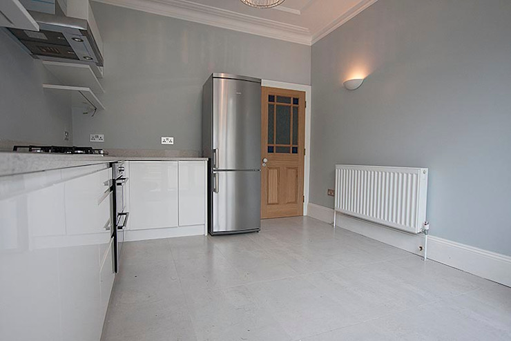 Full interior house painting, South West London Classic style kitchen by The Hamilton Group Classic