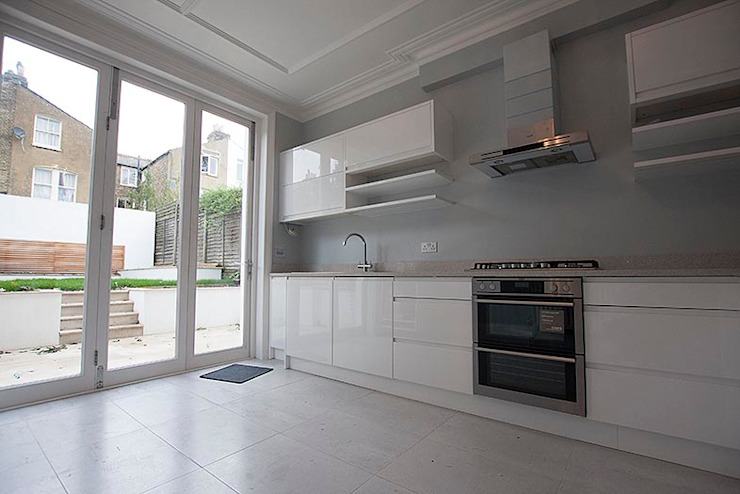 Full interior house painting, South West London The Hamilton Group Classic style kitchen
