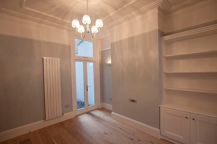 Full interior house painting, South West London The Hamilton Group Classic style dining room