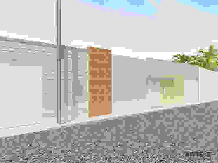 Diseño de fachada Casas de estilo mediterráneo de Arte 5 Remodelaciones Mediterráneo