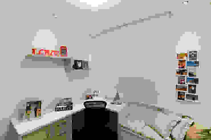 RAFAEL SARDINHA ARQUITETURA E INTERIORES Oficinas de estilo moderno