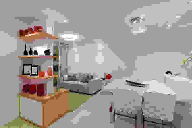 Salle à manger de style  par RAFAEL SARDINHA ARQUITETURA E INTERIORES, Moderne