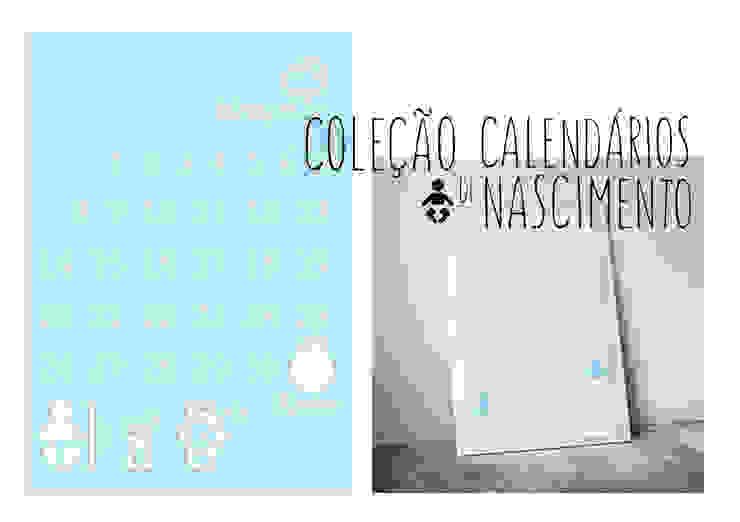 Calendário de nascimento - Birthday calendar por MyNest Moderno Papel