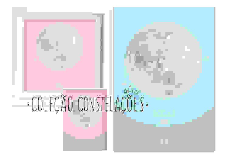 Constelações - Constellations por MyNest Moderno Papel