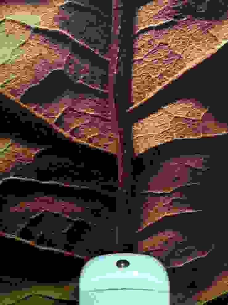 Textura de Hoja en Vinil Adhesivo Baños clásicos de Liferoom Clásico