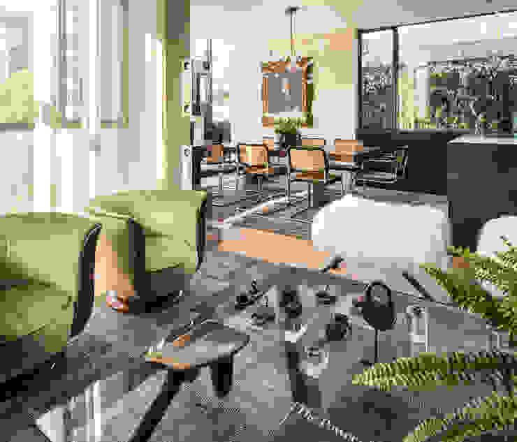 Casa em Sao Francisco por Antonio Martins Interior Design Inc Eclético