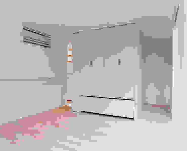 小金井の家 ミニマルスタイルの 寝室 の hamanakadesignstudio ミニマル