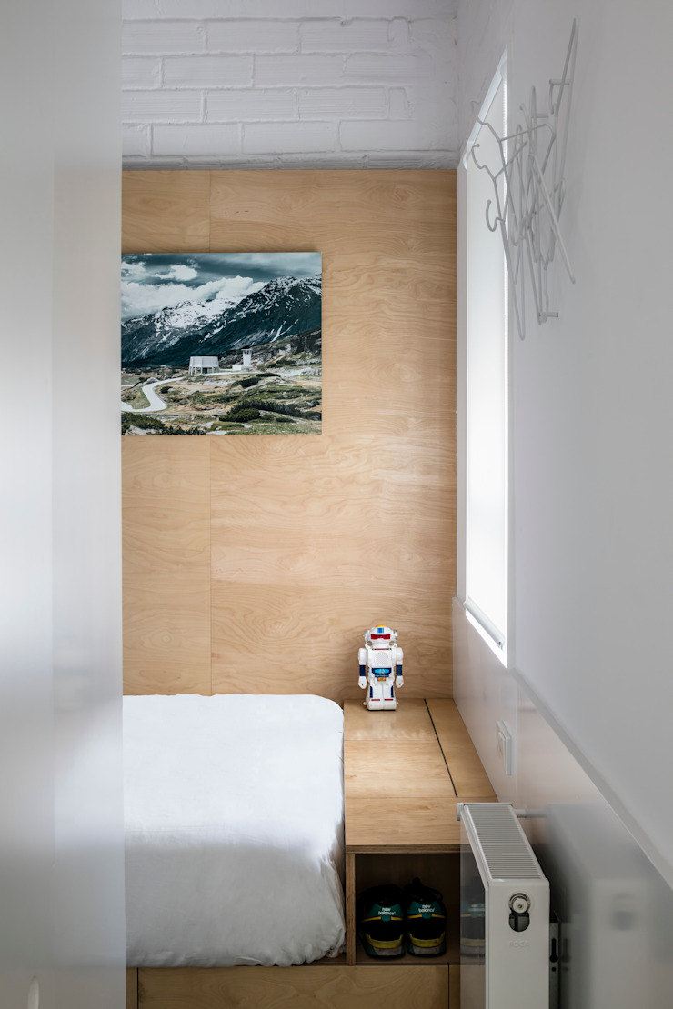 Спальня в стиле модерн от vora Модерн