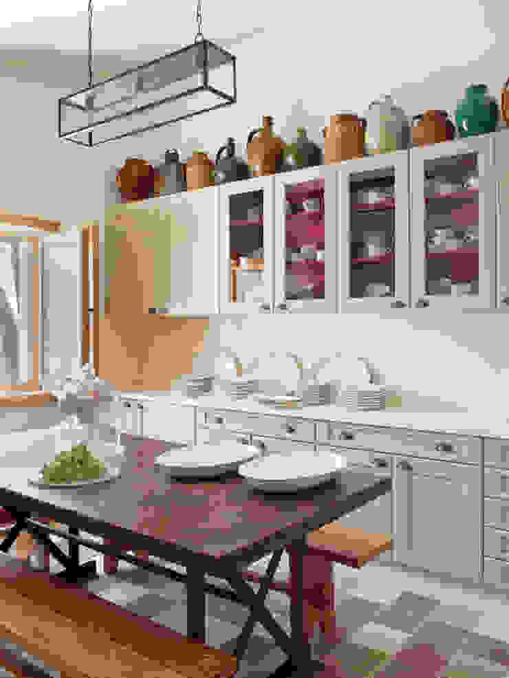 SA&V - SAARANHA&VASCONCELOS Cocinas de estilo rústico