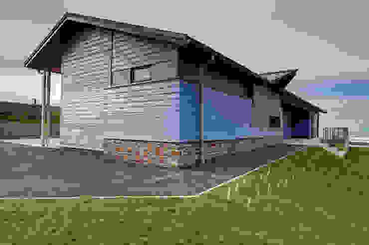 Bude Cricket Pavilion โดย Trewin Design Architects โมเดิร์น