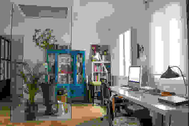 Viteri/Lapeña의  서재 & 사무실, 에클레틱 (Eclectic)