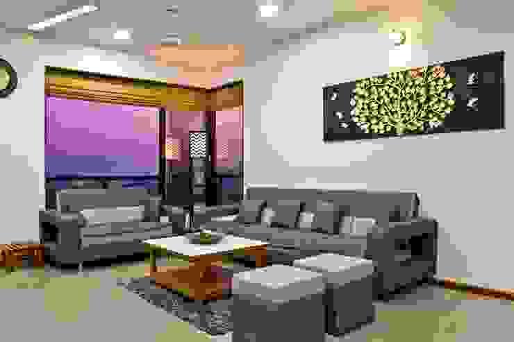 SPARSH Modern living room by PADARRPAN ARCHITECTS Modern