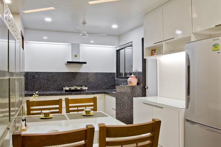 SPARSH Modern kitchen by PADARRPAN ARCHITECTS Modern