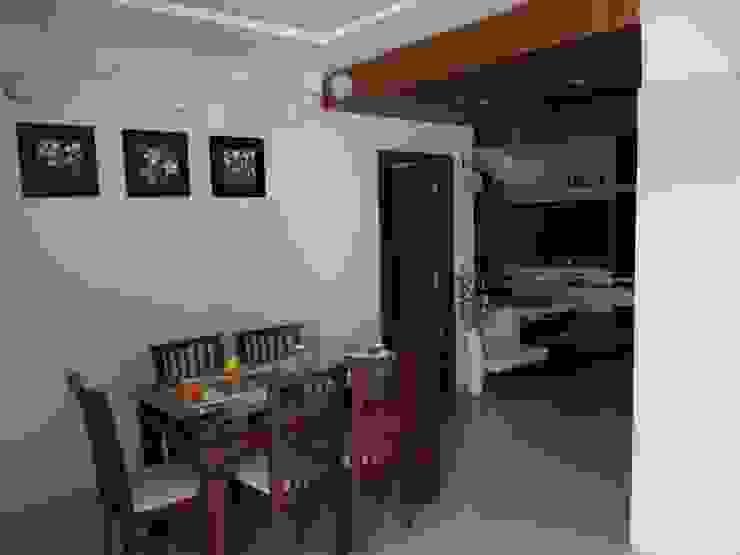 Modern dining room by PADARRPAN ARCHITECTS Modern