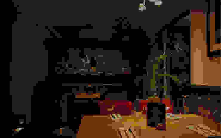 Carnivore Gastronomie moderne par Aquarium Architecture Moderne