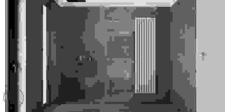 PIEKARSKIEGO Minimalistyczna łazienka od KAEL Architekci Minimalistyczny Ceramiczny