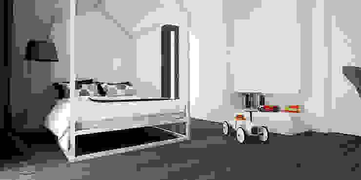 PIEKARSKIEGO Minimalistyczny pokój dziecięcy od KAEL Architekci Minimalistyczny Drewno O efekcie drewna