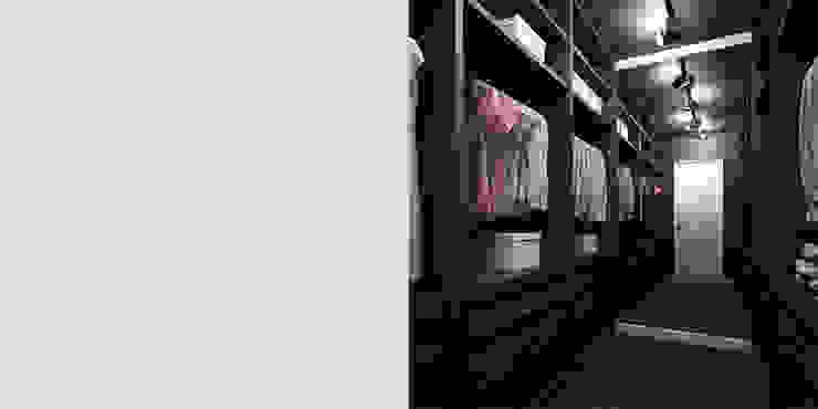PIEKARSKIEGO Minimalistyczna garderoba od KAEL Architekci Minimalistyczny Drewno O efekcie drewna