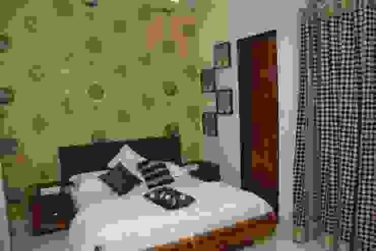 SAMVAAD Modern style bedroom by PADARRPAN ARCHITECTS Modern