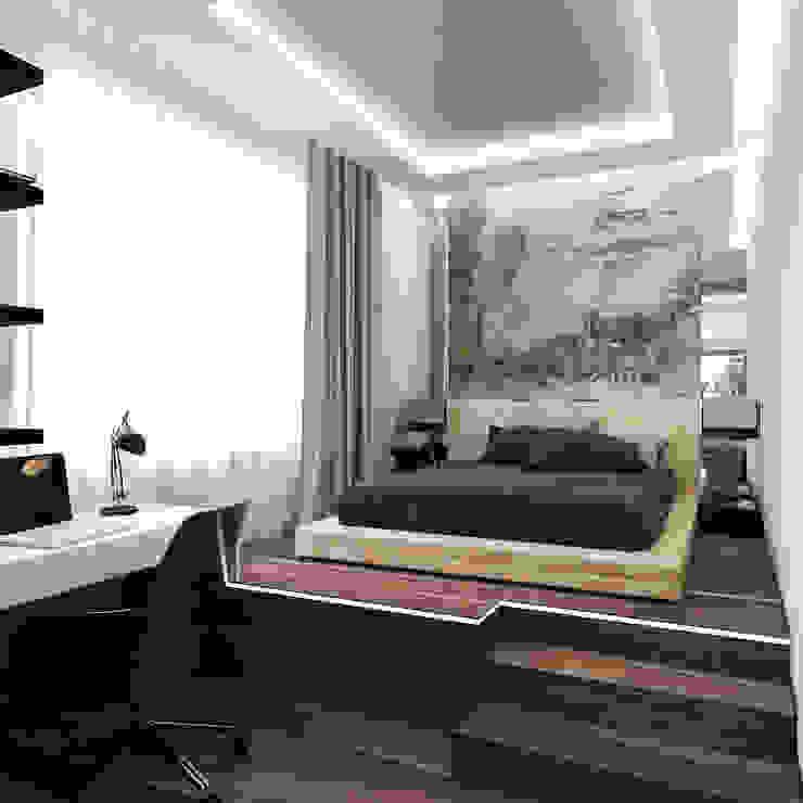 Minimalist bedroom by INTERIERIUM Minimalist