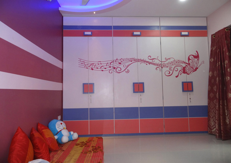 Mr. Pramod Joshi:  Nursery/kid's room by UNIQUE DESIGNERS & ARCHITECTS