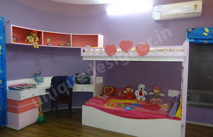 Eden Wood House Modern nursery/kids room by UNIQUE DESIGNERS & ARCHITECTS Modern