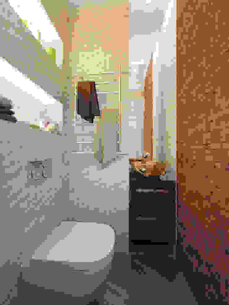 Modern bathroom by INTERIERIUM Modern