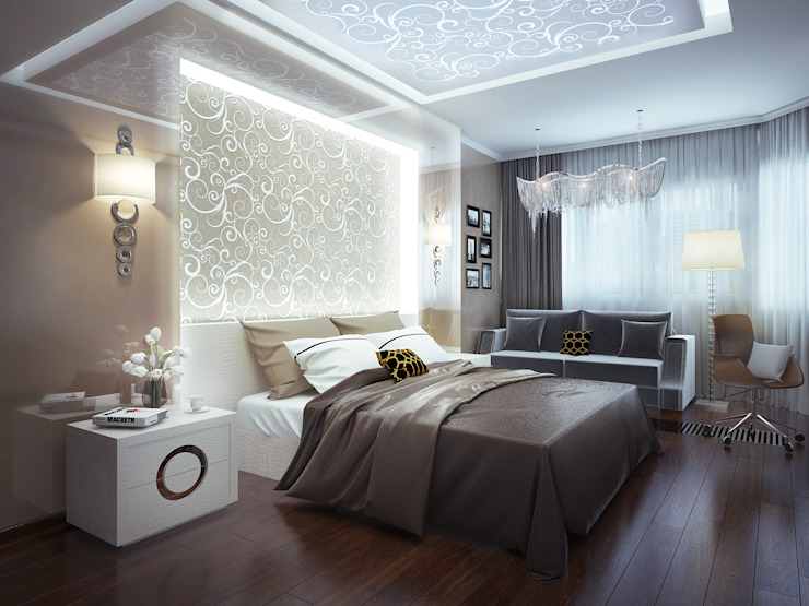 Modern style bedroom by INTERIERIUM Modern