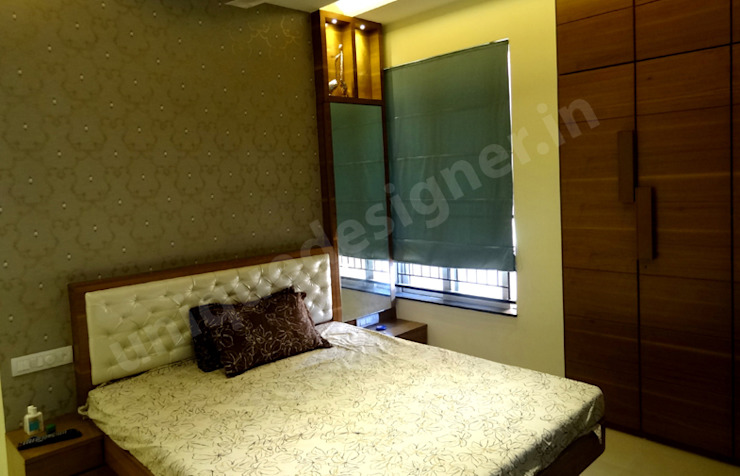 Mr. Bhadane Modern style bedroom by UNIQUE DESIGNERS & ARCHITECTS Modern
