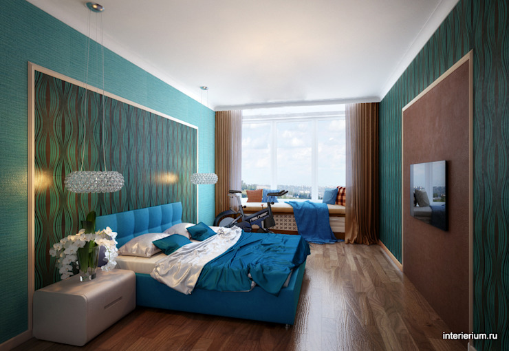 INTERIERIUM Minimalist bedroom