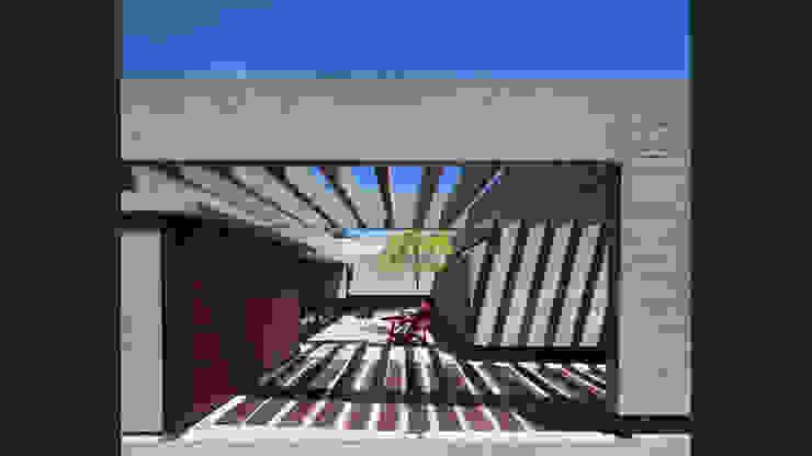 Casa S&S Jardines minimalistas de homify Minimalista Hormigón
