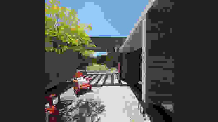 Casa S&S Jardines minimalistas de homify Minimalista Concreto