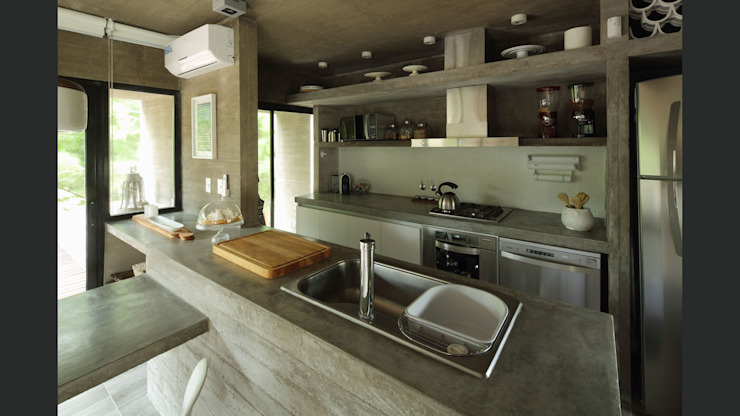 Kitchen by homify, Minimalist Concrete