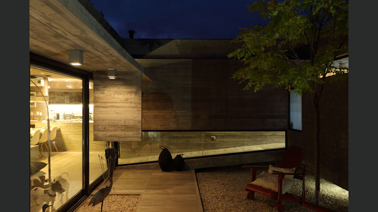 Jardins minimalistas por homify Minimalista Concreto