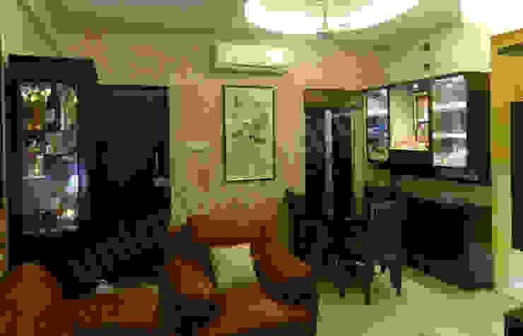 Mr. Arjit Sarkar Modern living room by UNIQUE DESIGNERS & ARCHITECTS Modern
