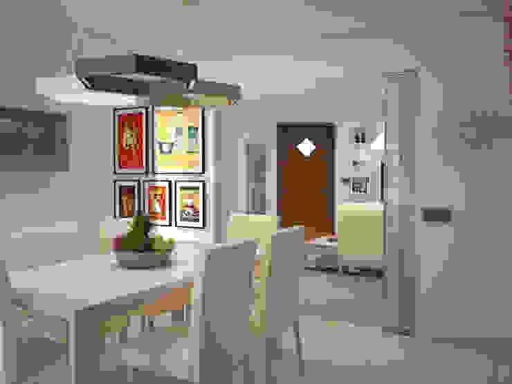 Lavoro di Interior Design Cucina moderna di Teresa Lamberti Architetto Moderno