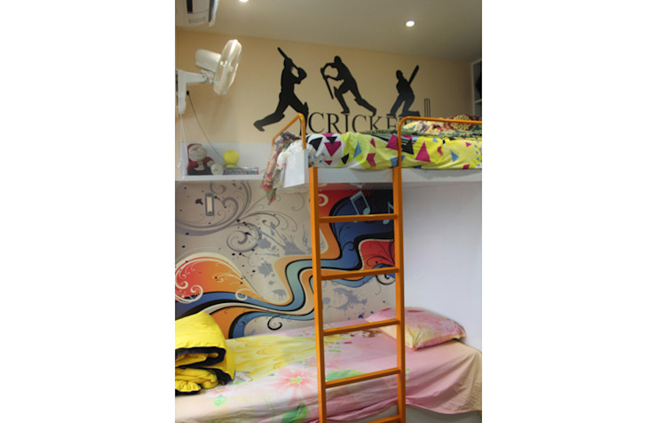Mr.Pramod Chaudhary at Cosmos Horrizon Modern nursery/kids room by UNIQUE DESIGNERS & ARCHITECTS Modern