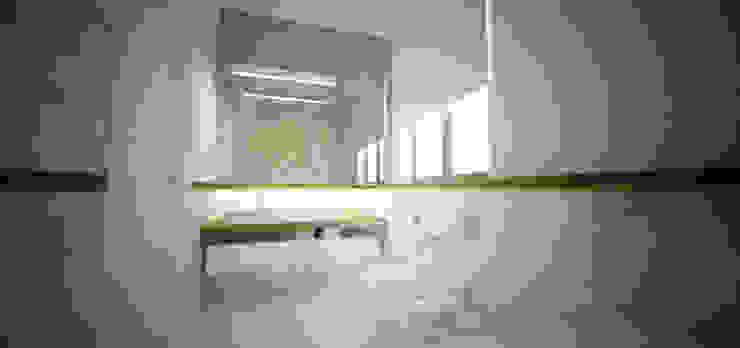 DUOTRZYDWA Skandynawska łazienka od NA NO WO ARCHITEKCI Skandynawski