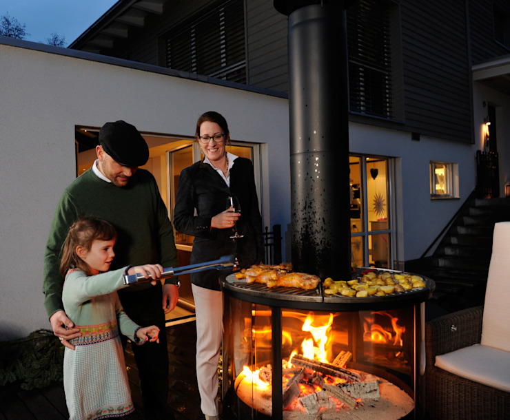 od Rüegg Cheminée Schweiz AG Klasyczny Żelazo/Stal