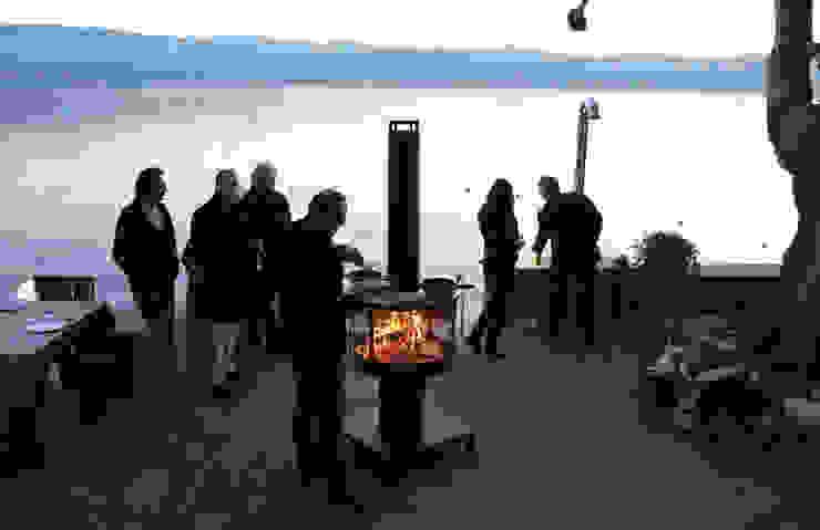 Outdoor-Feuerstelle Rüegg SURPRISE von Rüegg Cheminée Schweiz AG Klassisch Eisen/Stahl