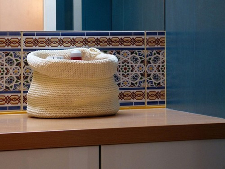 Kolory Maroka Salle de bainEtagères Tuiles Bleu