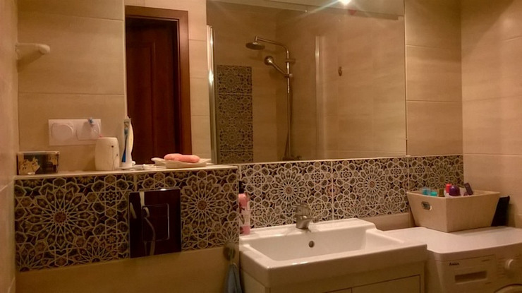 Kolory Maroka Salle de bainSièges Tuiles Multicolore