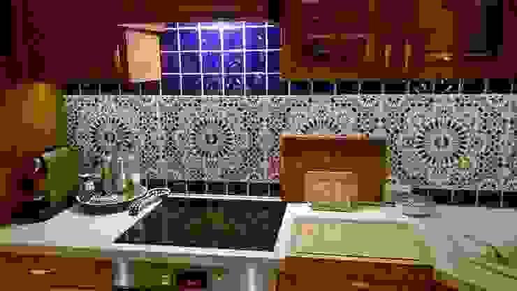 Kolory Maroka CuisinePlans de travail Tuiles Bleu