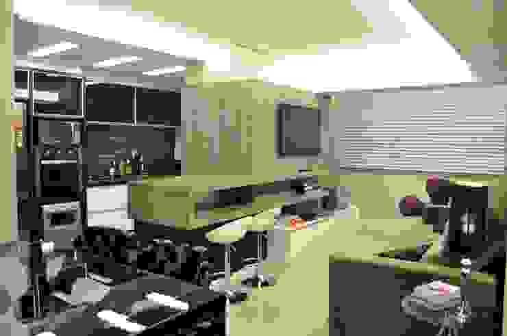 LIVING CONTEMPORÂNEO COM LEVEZA E SOFISTICAÇÃO Salas de estar modernas por ROBERTA FANTON ARQUITETURA INTEGRADA Moderno