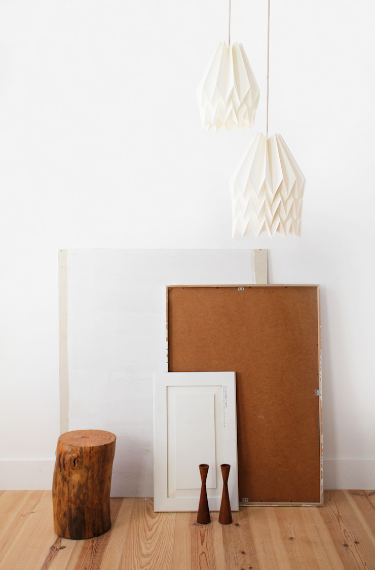 Orikomi Plain Polar White: minimalist  by Orikomi, Minimalist