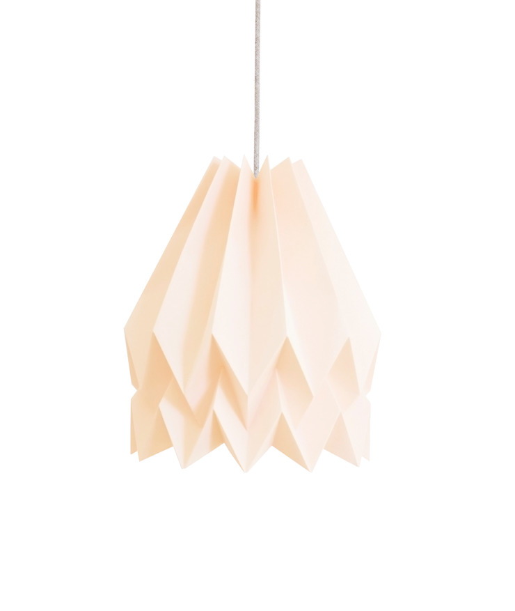 Orikomi Plain Pastel Pink: minimalist  by Orikomi, Minimalist