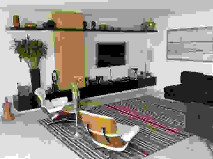 Casa nas alturas Salas de estar modernas por Luciani e Associados Arquitetura Moderno