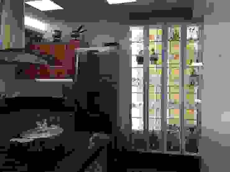 Cozinha gourmet Cozinhas rústicas por Verônica Oliveira Rústico Azulejo