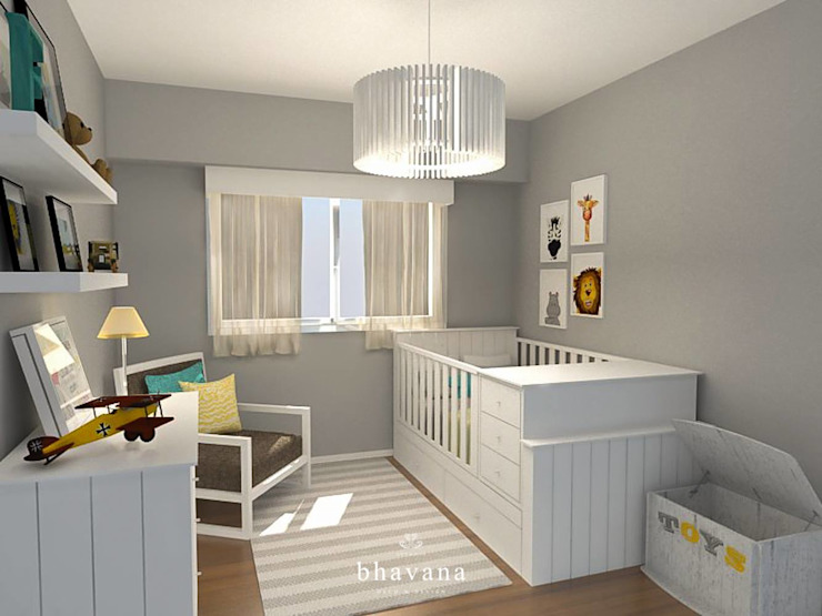 Modern Kid's Room by Bhavana Modern